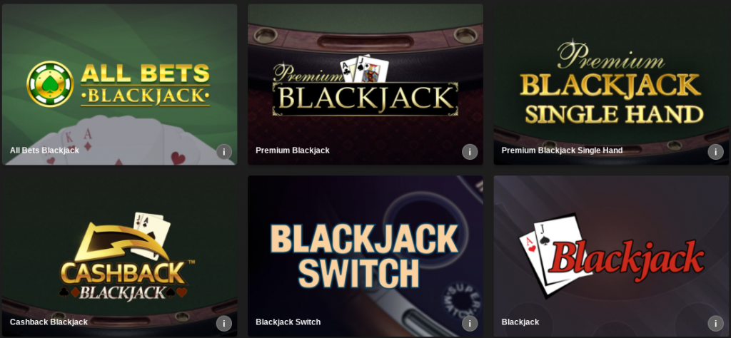 Cassinos Online Blackjack