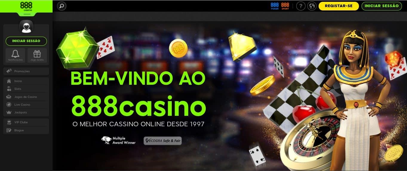 Como registrar-se em 888 Casino